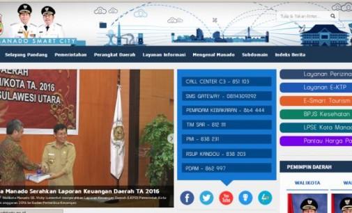 Berdiri Sejak Tahun 2010, Layanan Website Pemerintah Kota MANADO Makin Lengkap