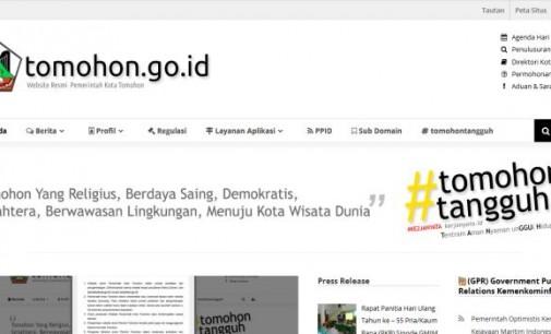 Hanya Dengan Anggaran Ratusan Ribu, Diskominfo Benahi Website Pemkot Tomohon
