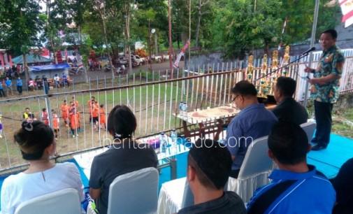 Buka Yulita Cup I, Ini Pesan Yoke Senduk ke Anggota DPRD Bitung