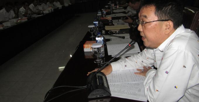 YONGKIE LIMEN di rapat bersama BPJN dan Dinas PUPR Sulut