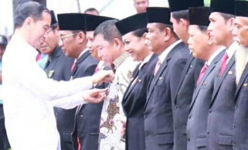 Bupati James Sumendap Dapat Pengakuan Presiden Jokowi