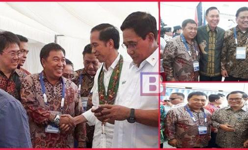 Bupati James Sumendap Dampingi Presiden Resmikan Pelayaran Davao-Bitung