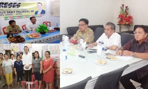 Turun Reses, Personil DPRD Sulut Dapil Minsel-Mitra Apresiasi Kepemimpinan James Sumendap