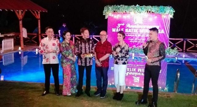 Perayaan HUT ke-3 Wale Batik Minahasa