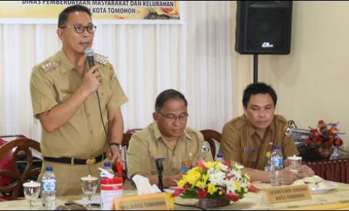 Jimmy Eman Buka Pelatihan Aparatur Pemerintah Kelurahan