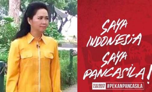 Hari Lahir Pancasila, Aryanthi Baramuli Putri Sebut Keputusan Presiden Harus Dihormati