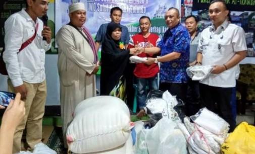 Lakukan Kegiatan Sosial Begini, Ketua IWO VICTOR RARUNG Apresiasi Bank SulutGo