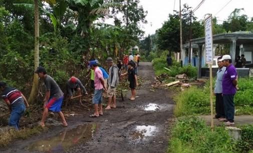 Desa Amongena Satu Genjot Pembangunan