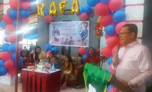 DICKY MASENGI Hadiri Acara 'Nae Rumah Baru' di Desa Ampreng