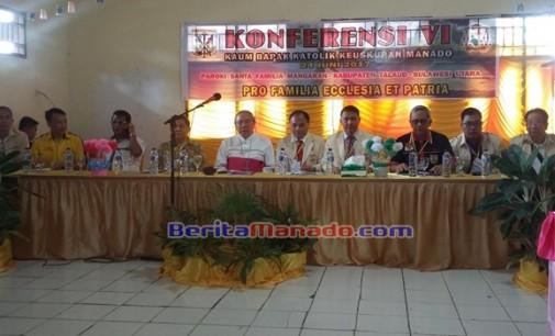 EDWIN KINDANGEN Terpilih Ketua KBK Keuskupan Manado