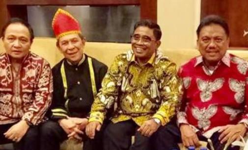 Empat Gubernur Terakhir Sulut Duduk Satu Kursi