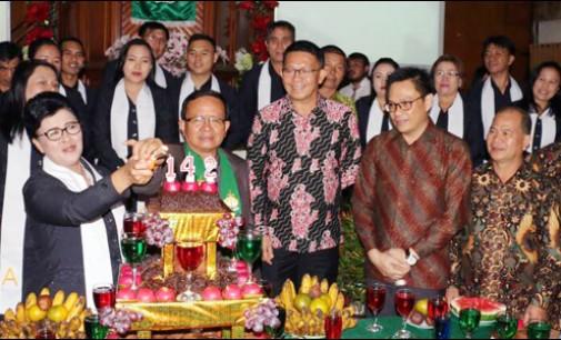 Jemaat GMIM Golgota Tondangow Peringati HUT ke-142