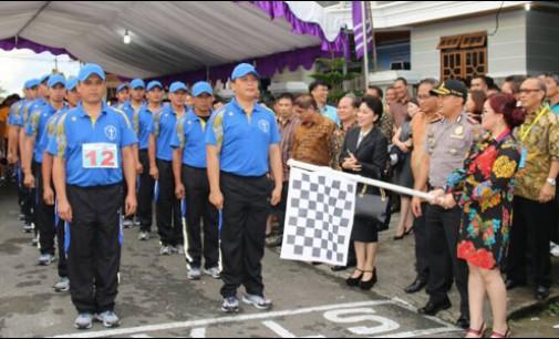 Walikota dan Wakil Walikota Tomohon Hadiri HAPSA P/KB Wilayah Tomohon III
