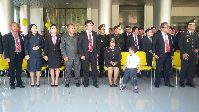 Sejumlah Anggota DPRS Minsel dan Tamu Undangan Yang Hadir