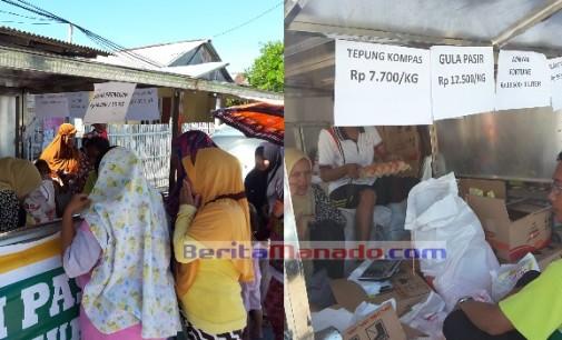 RAMADHAN: Dinas Perdagangan Minut Maksimalkan Pasar Murah Keliling