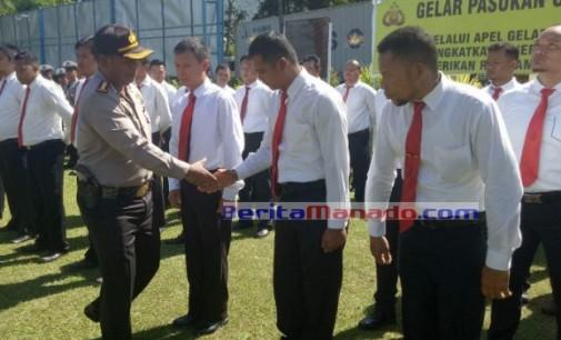 Polres Minut Apel Gelar Pasukan Operasi Ramadhaniya Samrat 2017