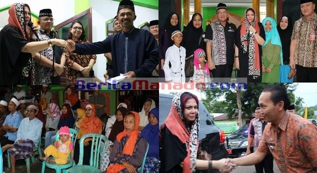 Rangkaian kegiatan Safari Ramadhan di Palaes dan Warukapas.