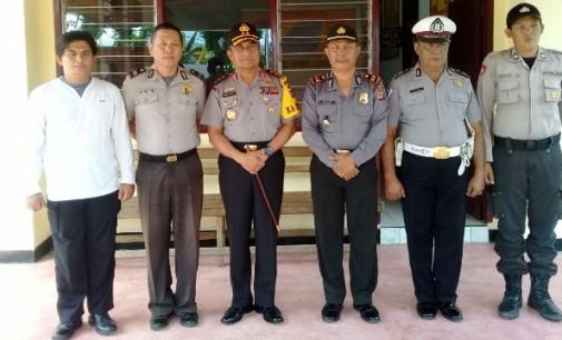 Kapolda Sulut BAMBANG WASKITO, Sidak Pengamanan Lebaran Minsel 2017
