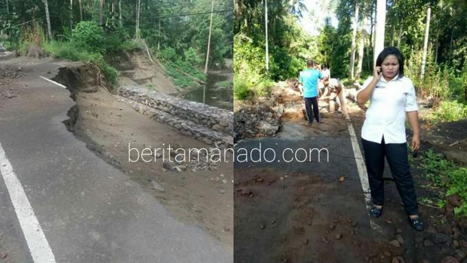Kondisi jalan Batuputih yang tak kunjung selesai diperbaiki