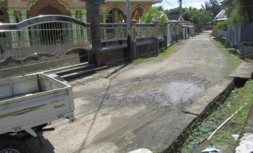Ini Foto-foto Bukti Kampung Mayora Diabaikan Pemkot Manado