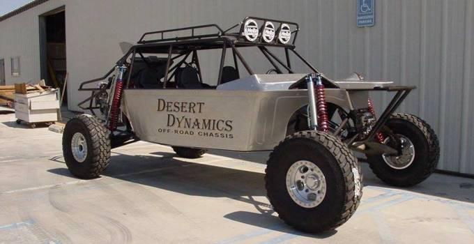 Kendaraan Offroad Dynamic Desert California