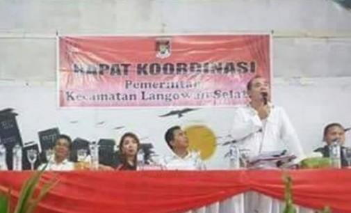 Rakor Langowan Selatan Diduga Disusupi Agenda Politik
