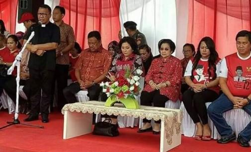 Parade Pancasila, Pdt Lucky Rumopa Pimpin Doa Untuk NKRI dan Pancasila