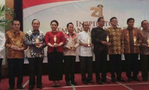 Walikota Bitung Salah Satu Kepala Daerah Inspirator 2017 di Indonesia