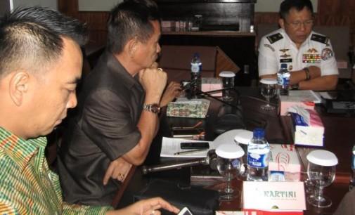 Rapat bersama Komisi 1 DPRD Sulut, BAKAMLA Akui Ini sebagai Ancaman Nyata
