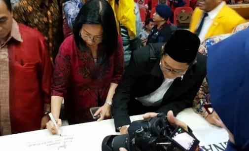 Ellen Kumaat Hadiri Deklarasi Jaga Keutuhan NKRI, PTN se-Indonesia Timur
