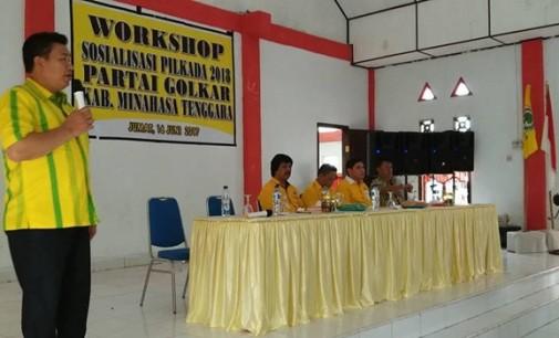 Workshop Pilkada, Golkar Mitra Siapkan Calon