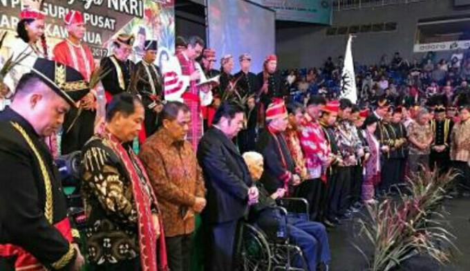 Walikota Bitung ketika hadiri pengukuhan Ketua DPP K3