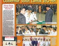 Gubernur Sulut Lantik JEG-HH