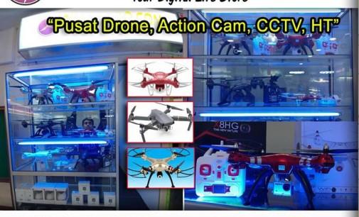 Discount Drone Hingga 300 ribu, dimanado.com Diburu Banyak Pengunjung