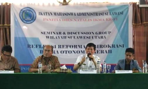 Sambangi Politeknik Negeri Manado, VICKY LUMENTUT Bicara Soal Birokrasi