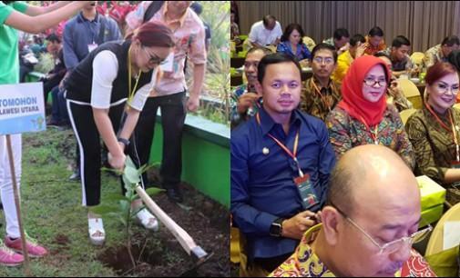 Di APEKSI, Syerly Sompotan Tanam Pakoba