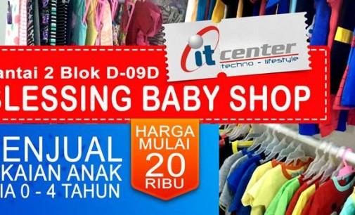 Blessing Baby Shop Hadir di itCenter dengan Koleksi Imut