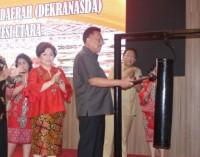 Gubernur OLLY DONDOKAMBEY Sebut Pentingnya Peranan Dekranasda Tunjang Pariwisata Sulut