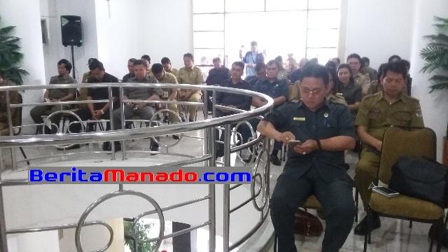 Sejumlah Pimpinan SKPD, Camat dan Undangan Lainnya