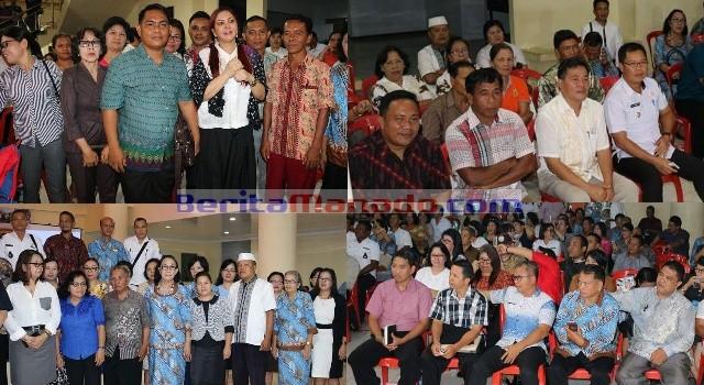 Rapat koordinasi lembaga keagamaan dalam rangka memelihara dan meningkatkan toleransi serta kerukunan umat beragama di Kabupaten Minut.