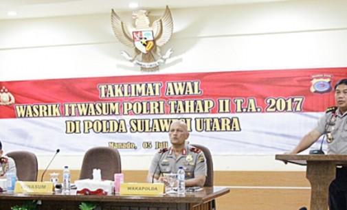Irwasum Polri Buka Pelaksanaan Wasrik Tahap II di Polda Sulut