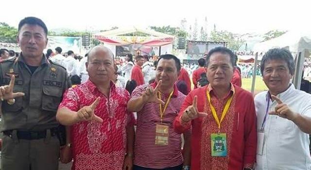 """Acara Pentahbisan Uskup Manado tidak beda dengan kampanye politik dengan hadirnya simbol """"L"""""""