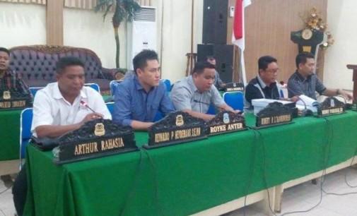 Pansus DPRD Manado Kecewa Kehadiran Pejabat SKPD Pemkot Minim