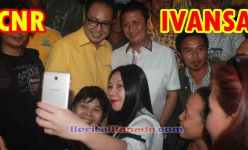 Penjaringan Bakal Calon Bupati Minahasa Partai Golkar, IvanSa-CNR Teratas