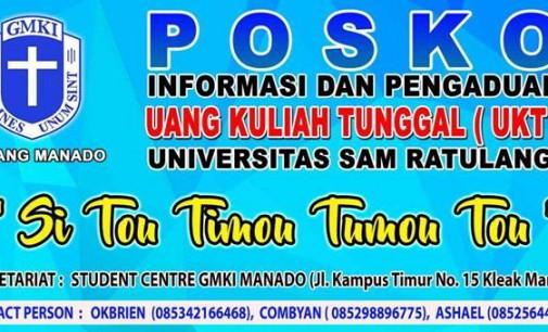 GMKI Manado Membuka Posko Informasi dan Pengaduan UKT Maba Unsrat