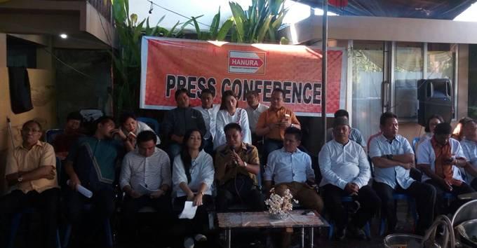 Press Conference Partai HANURA Sulut