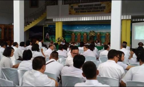 Rakor Keasistenan Kesra, Tomohon Masuk Program NasionalPenerbitan 10.000 Sertifikat Tanah