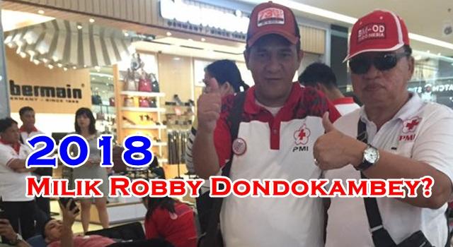 Robby Dondokambey (kanan)