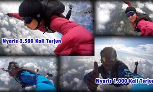 Duo Mandagi Sukses Jadikan Langit Seperti 'Kolam Renang'