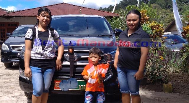 Tirza Onsu dan keluarga